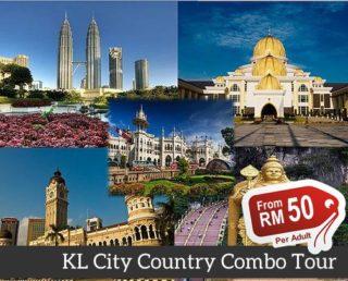 Kuala Lumpur City Combo Tour (Group)