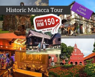 Historic Malacca Day Tour (Group)